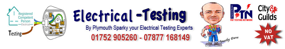 Pat Testing Plymouth | Sparky Dave